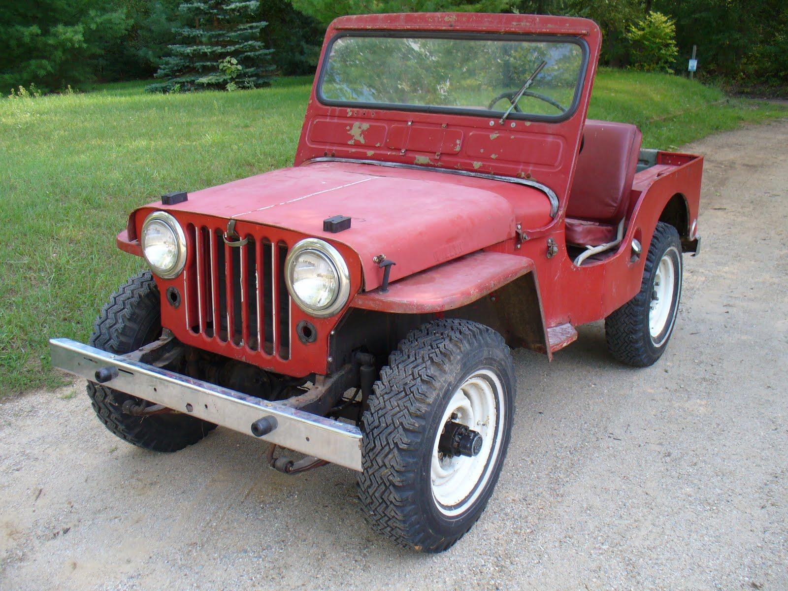 Willys Jeep Restoration Journal