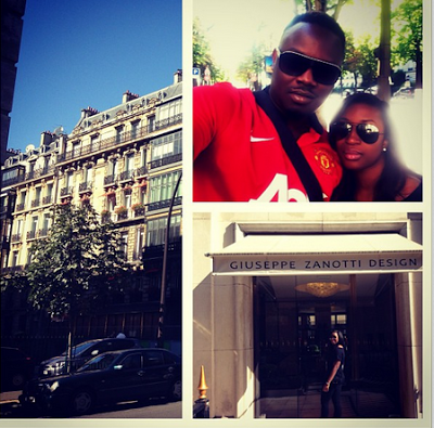 Photos: Dr. Sid & Fiancee, Simi Osomo Holiday In Paris