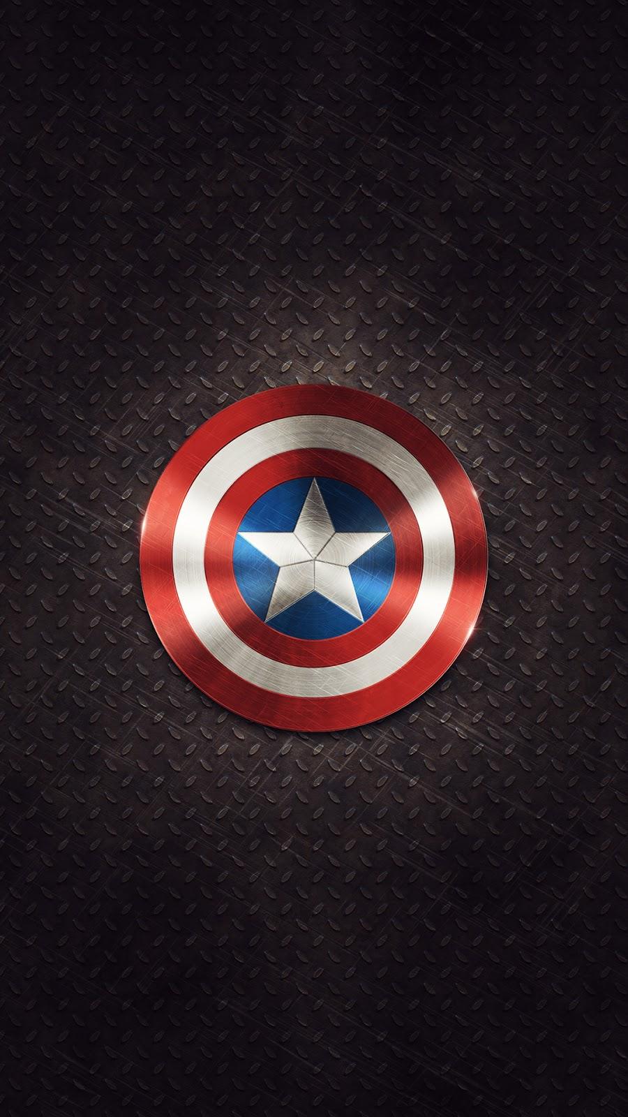 Wallpaper iphone latest - Captain America Shield Iphone 6 Plus Hd Wallpaper