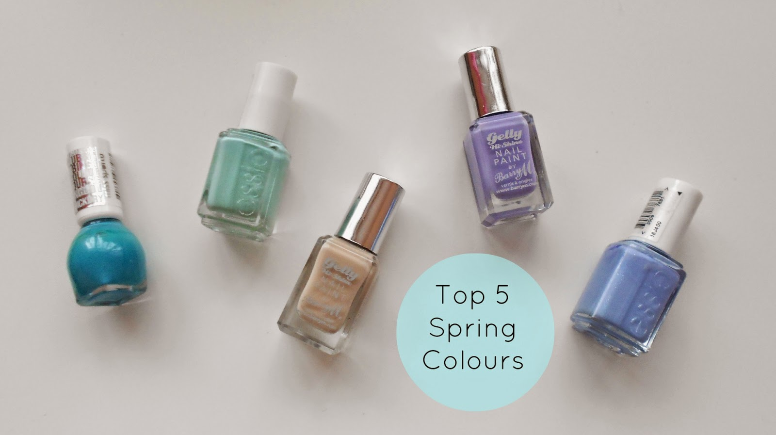 pastel spring nail polishes trend spring 2014 summer cute tumblr