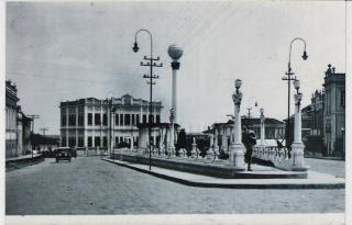 Vista panoramica da Praça do Globo