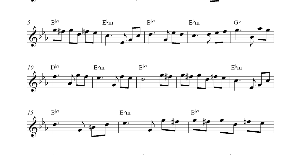 Fur Elise, free alto saxophone sheet music notes
