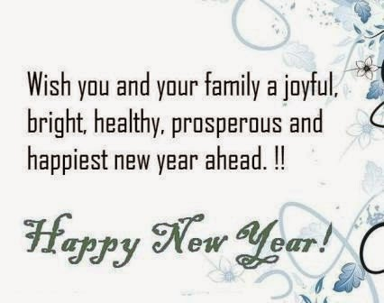 Happy New Year 2015 Text Messages - Happy New Year 2015
