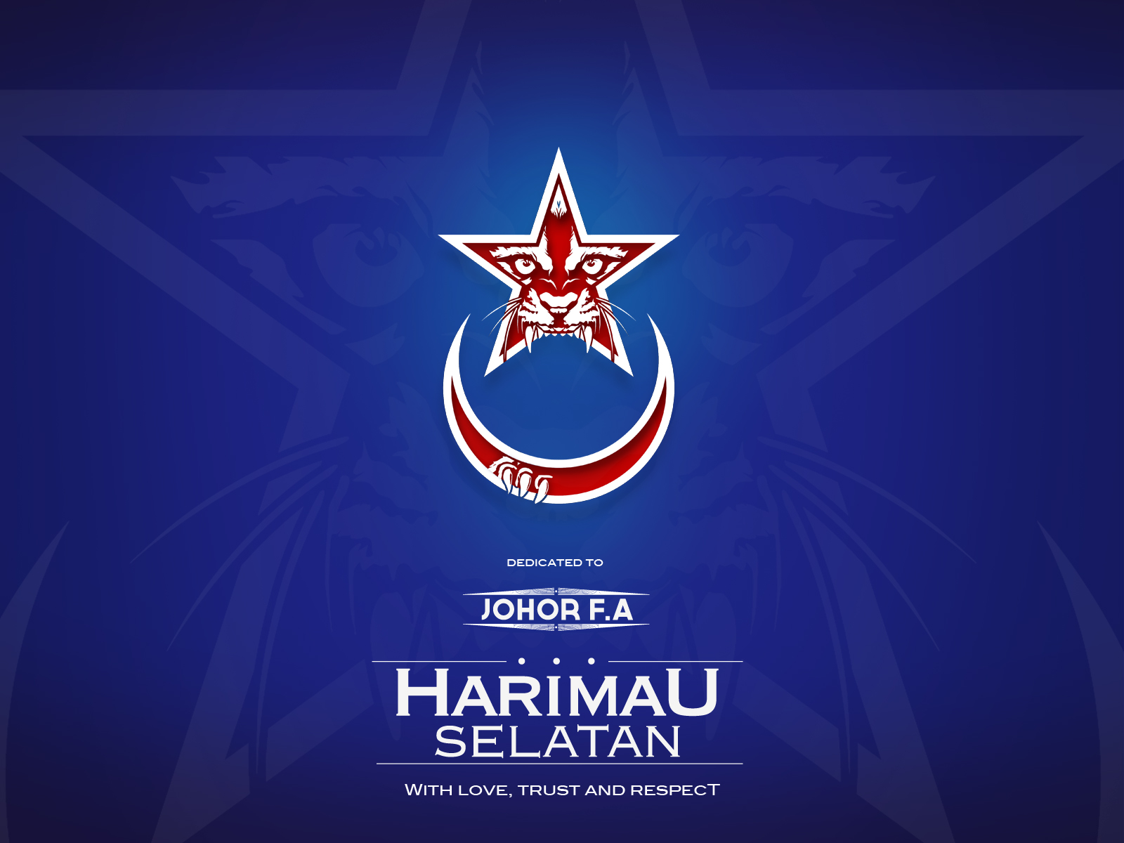 Harimau Selatan Dedication Wallpaper 2012