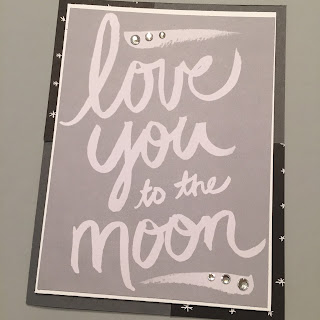 Project Life Love Story Stampin Up MidnightCrafting Card Making