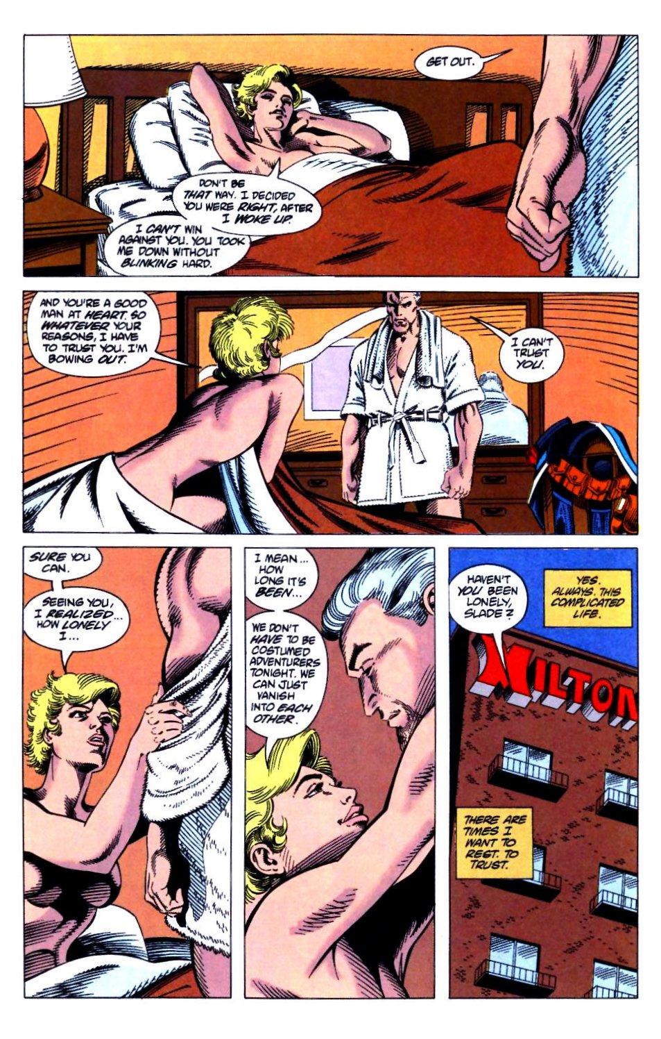 Deathstroke (1991) Issue #21 #26 - English 13