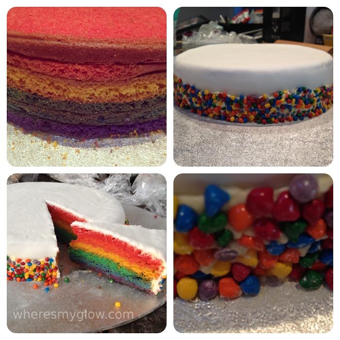 Thirty Candles Cake