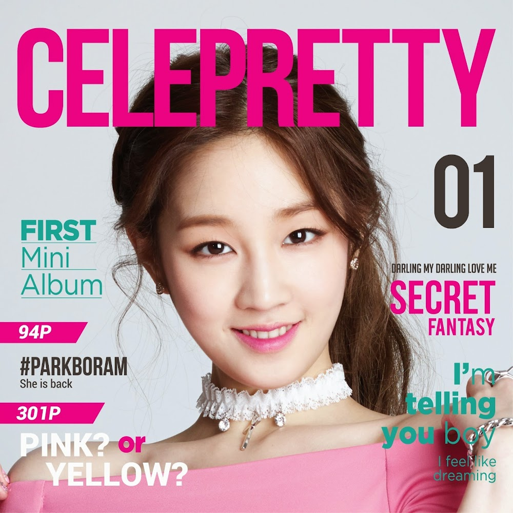 Park Boram Celepretty cover