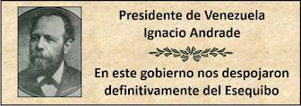 Fotos del Presidente Ignacio Andrade en el período 1898-1899