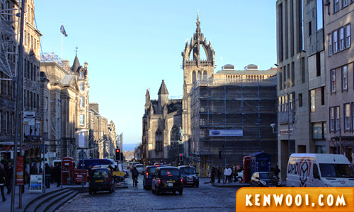 edinburgh royal mile top
