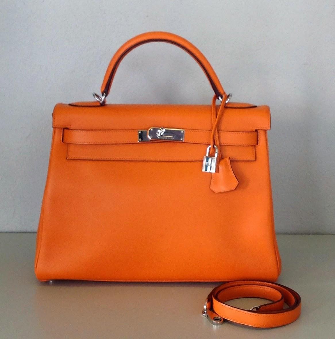 Kelly Hermès orange
