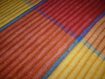 Detil Bahan Karpet Tenun