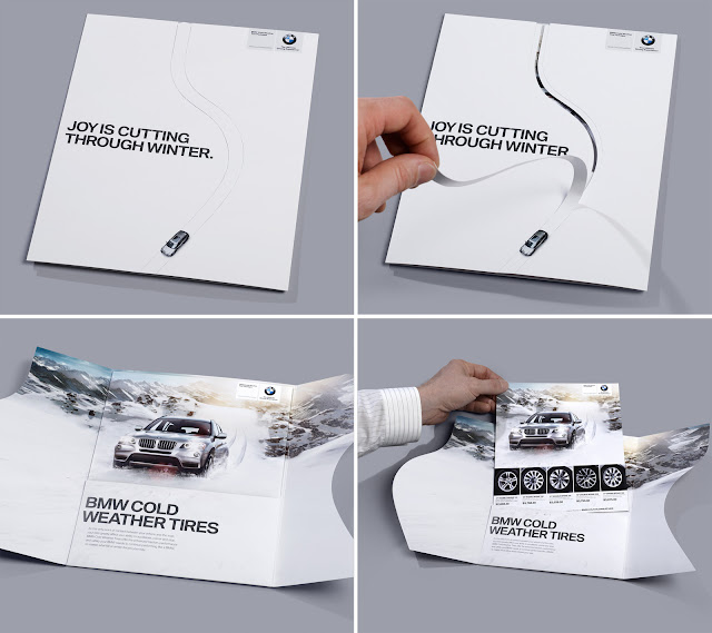 BMW advertisement: Cut through