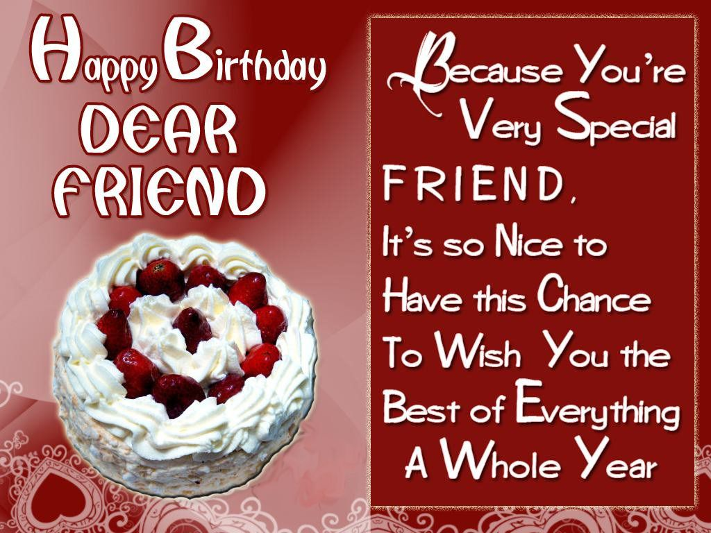 Greeting birthday wishes for a special friend this blog about birthday wishes for a special friend kristyandbryce Choice Image