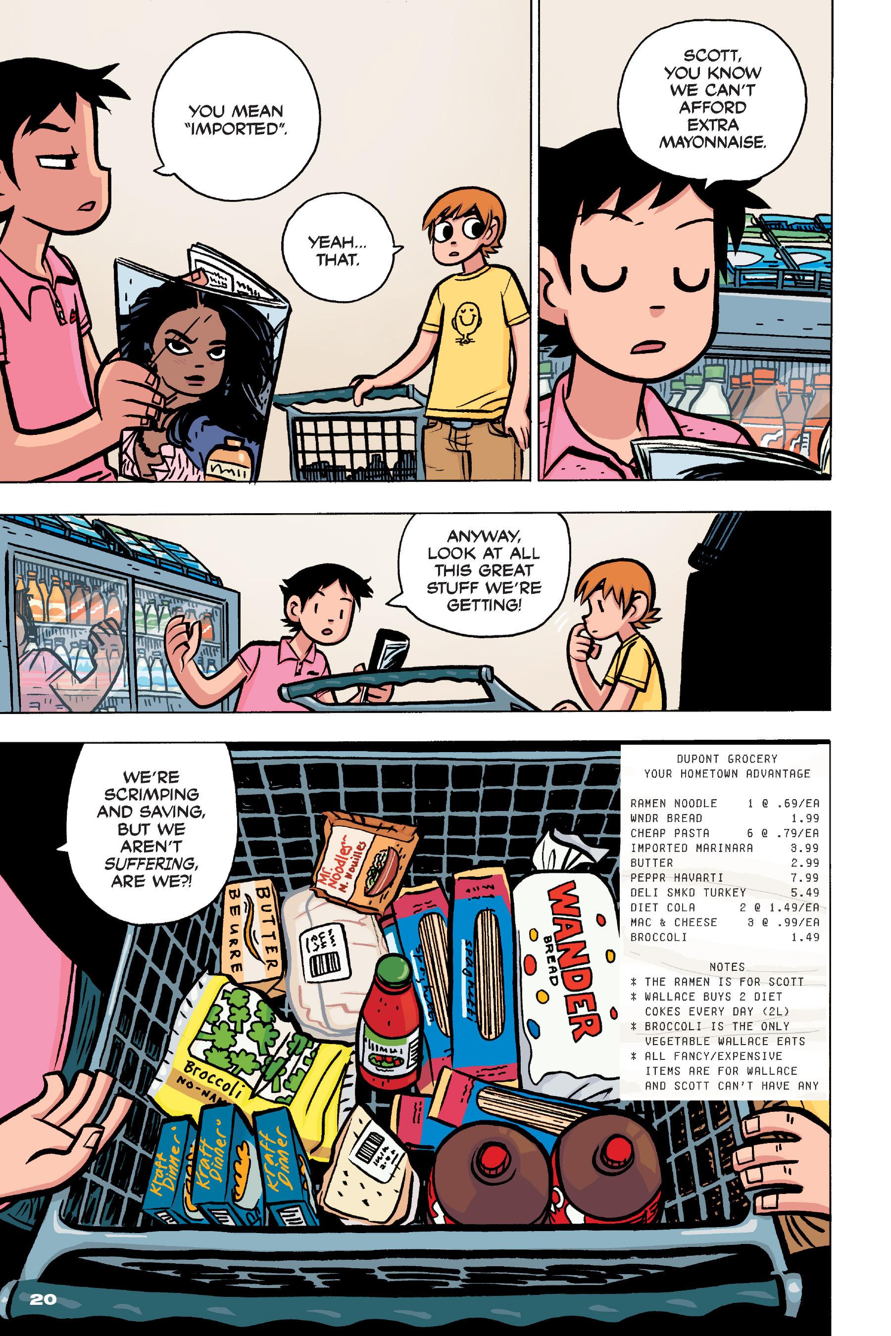 Read online Scott Pilgrim comic -  Issue #4 - 19