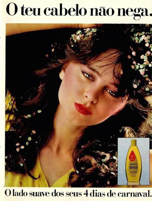 Propaganda do Shampoo Johnson & Johnson veiculada durante o carnaval de 1982.