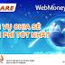 Fshare tích hợp cổng thanh toán trực tuyến Webmoney Việt Nam