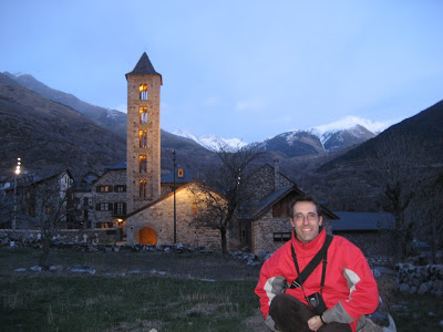 Santa Maria d'Erill la Vall romanesque church in Vall de Boí