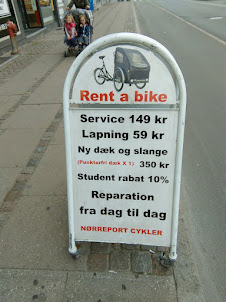 Cycles on Sale/rent and repairs  in Copenhagen