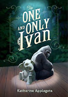 bookcover of THE ONE AND ONLY IVAN, by Katherine Applegate