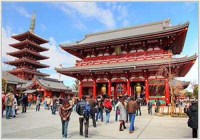 Japan Asakusa Temple