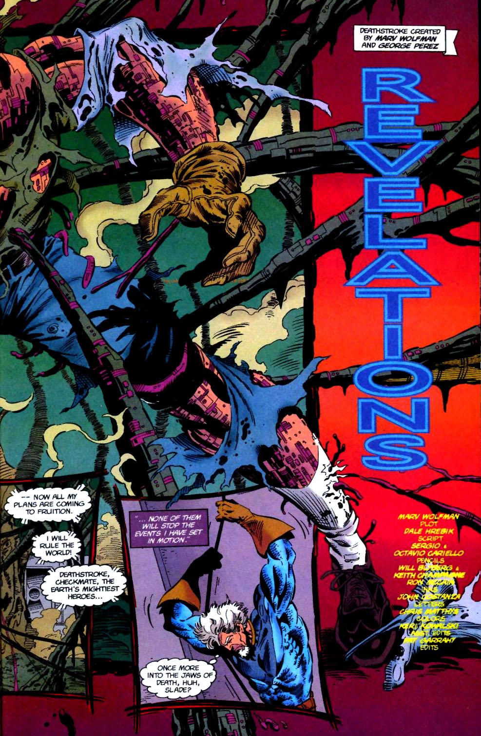 Deathstroke (1991) Issue #50 #55 - English 4