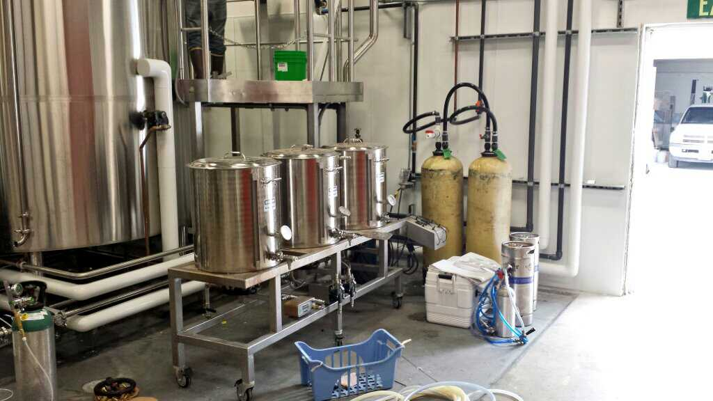 Modern Times Pilot System Brew Day The Mad