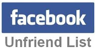 Trick to find Facebook Unfriend friends list