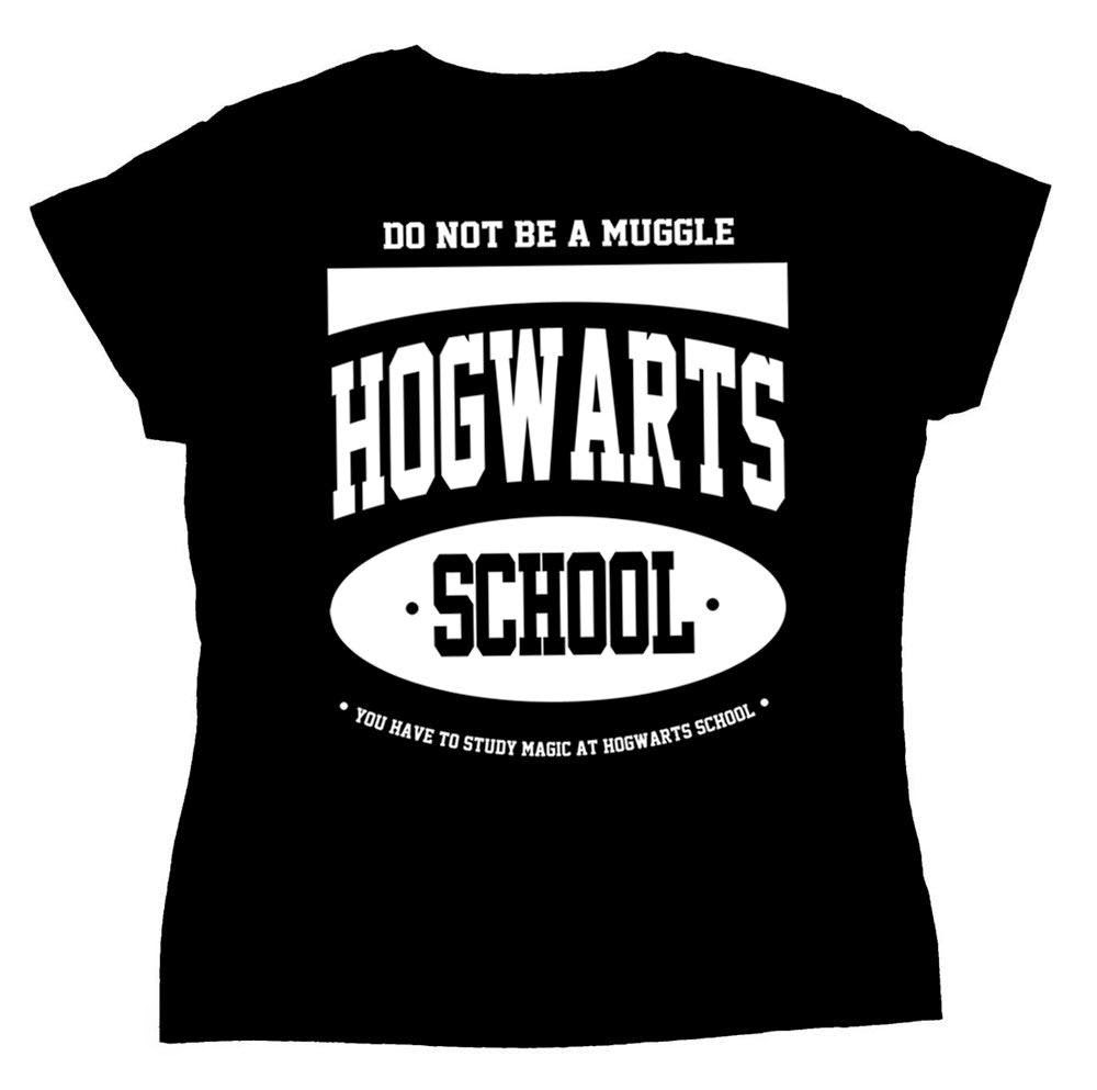 Camiseta Hogwarts School Do not be a Muggle