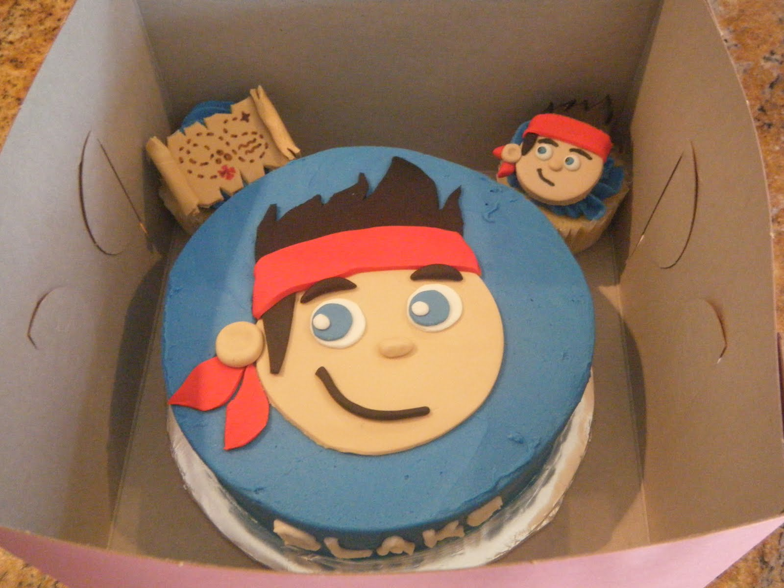 jake and the neverland pirates tiered cake - photo #34