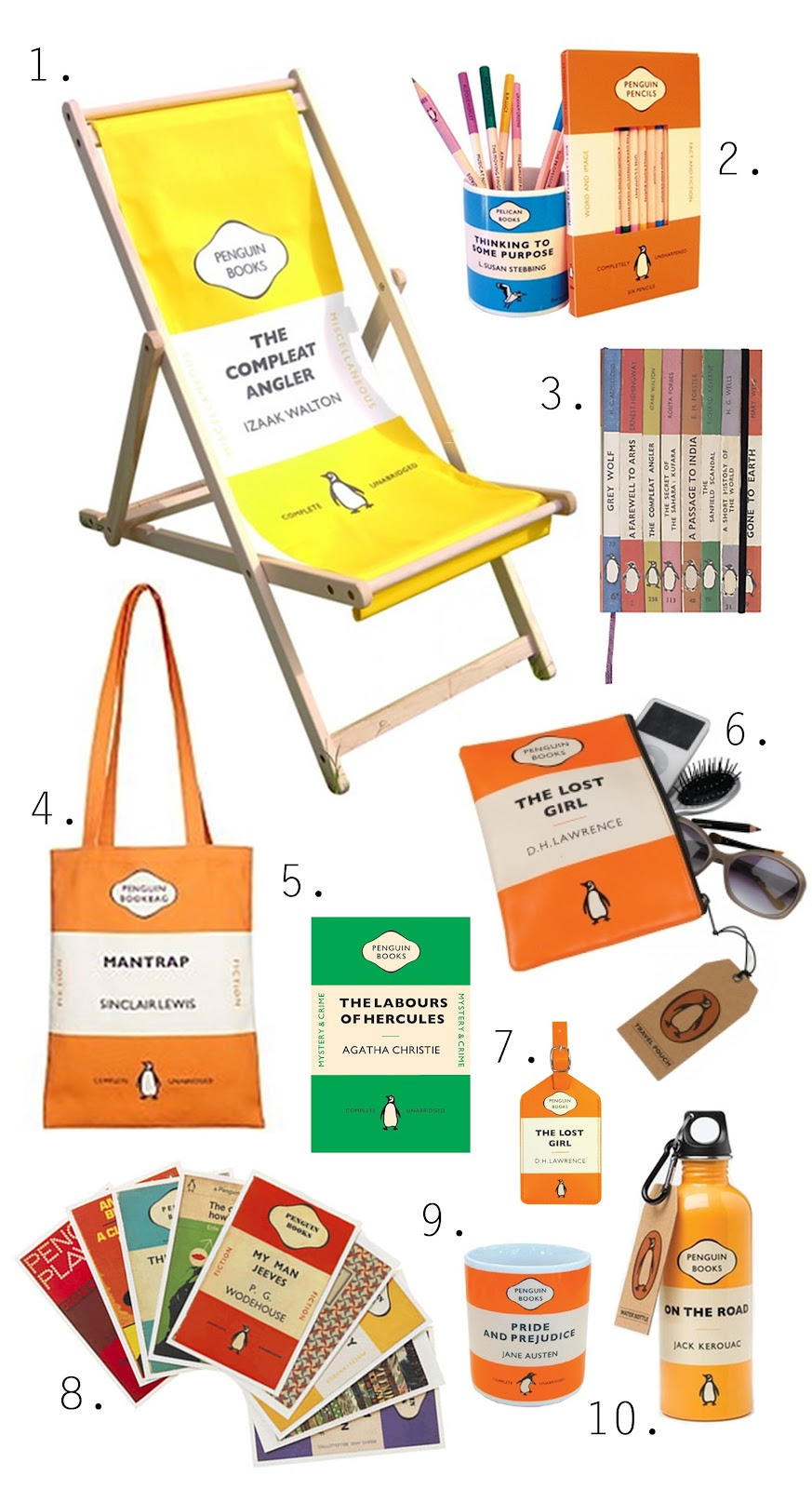 Penguin Book Cover Deck Chairs : Design muse penguin classics
