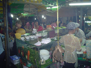 Where to eat in Ben Thanh Market. Ho Chi Minh. Vietnam