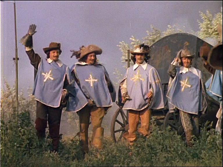 мушкетеры короля и гвардейцы кардинала порно фото