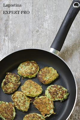 frittelle di zucchine e labne
