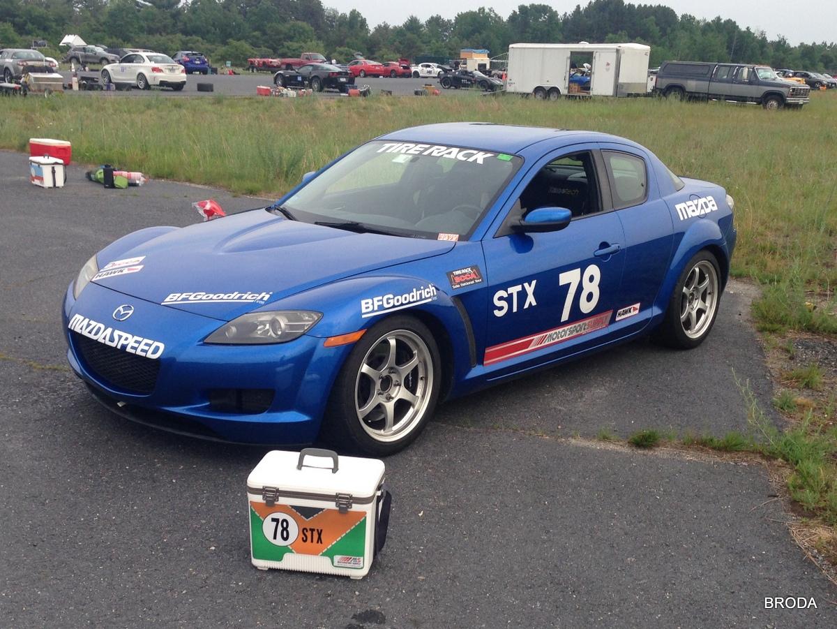BRODA Racing: [SOLD] 2004 Mazda RX-8 – Prepped for STX (MA)