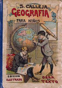 Portada de Geografía para niños de Editorial Saturnino Calleja
