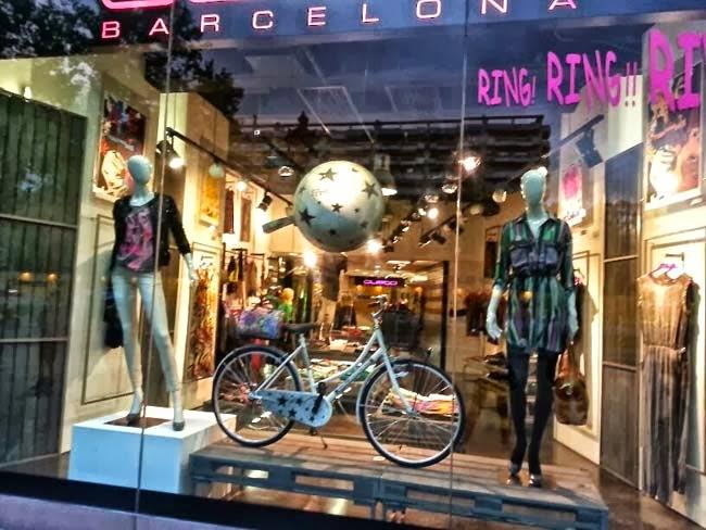 Barcelona, Madrid, escaparatismo,