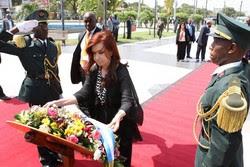 Angola: Presidente da Argentina apela para condenação de golpes de Estado