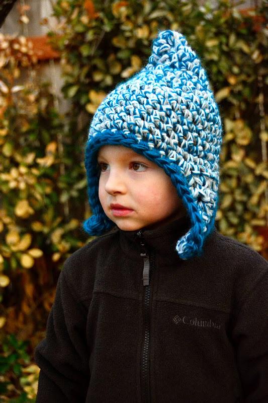 Aesthetic Nest: Crochet: Triple-Strand Earflap Hats for ...