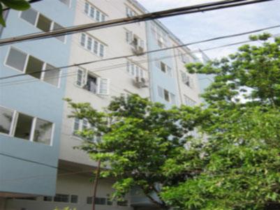 Mặt chính tòa chung cư mini Phú Thượng A, Tây Hồ