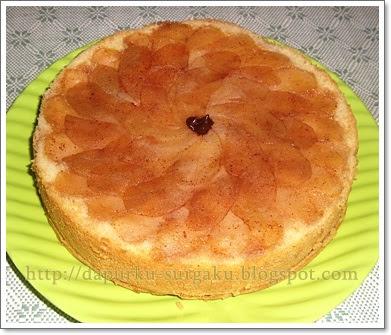 Camilan olahan Apel, Resep Cake Apel Lembut, Cake Tanpa Margarin, Cake Panggang, Cake Tanpa Pengembang Tambahan