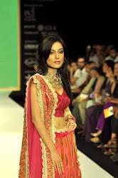 Amrita Rao walks the ramp for Agni Gold at IIJW-2012, INDIA INTERNATIONAL JEWELLERY SHOW 2012, amtita rao looking hot sexy in red indian bridal dress, cute smile