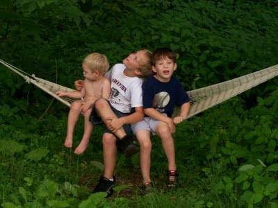 benefits of hammocks for children