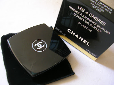 Chanel Les 4 Ombres Lagons 29 Eye Shadow Quad chanel lame dun regard collection spring 2011