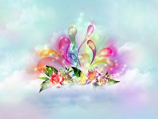 3D Flower Abstract HD Wallpaper
