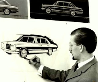 Paul Bracq French famous car designer.