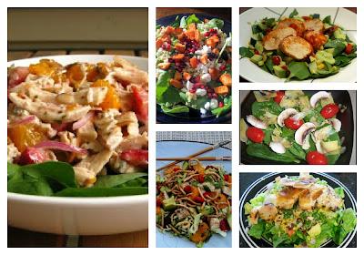 ... chinese chicken salad strawberry orange and grilled chicken salad