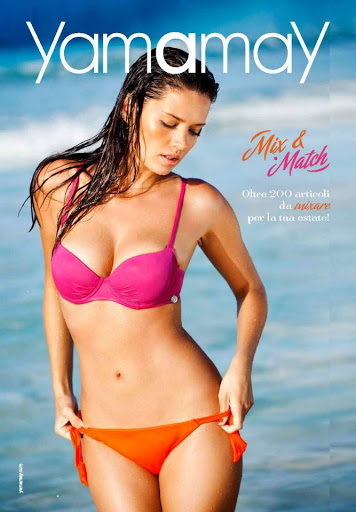 Michea Crawford Yamamay sexy bikini model
