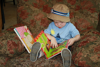 Reading His ABC Book
