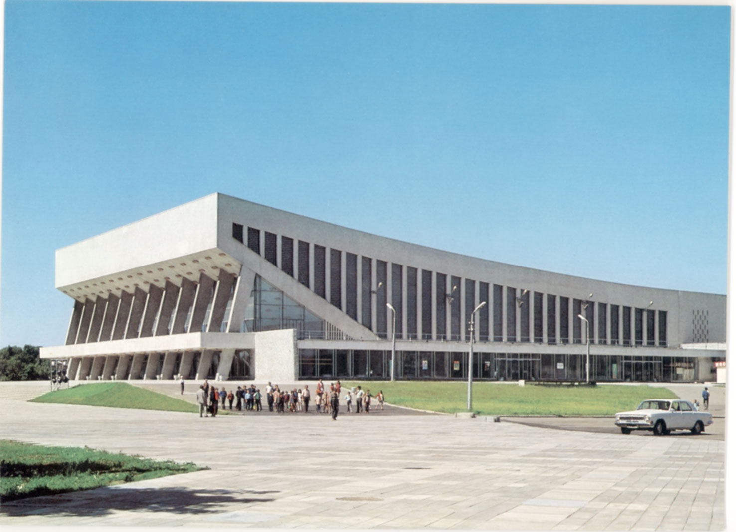 Architectures de cartes postales 1 au pays des soviets for Architecture urss